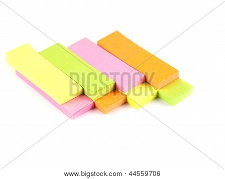 Office Composition. Self-adhesive Notes