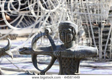 Sculpture Of Zodiac Sign Sagittarius