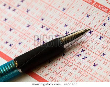 Lotto And Pen