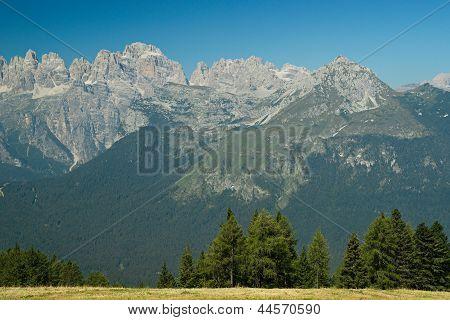 trentino dolomites mountain