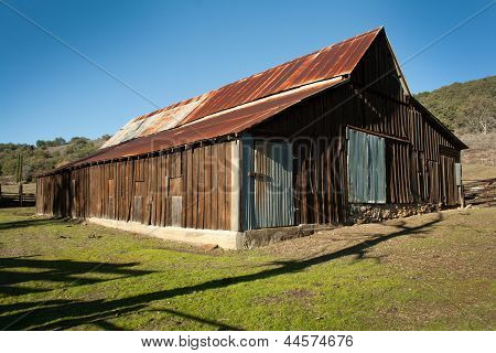 Full Old Barn
