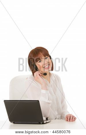 Friendly Call Centre Operator