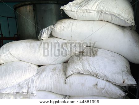 Sacks of sugar