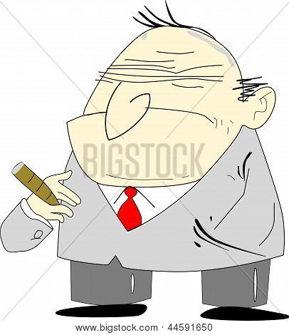Bad Boss Cartoon