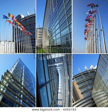 European Parliament Collage