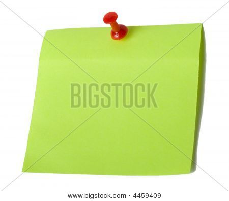 Blank Sheet Pin With Nail