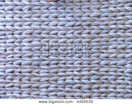 Vegetal Fiber Textile Background