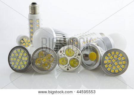 Various Leds Bulb Gu10 And E27 With Different Cooling