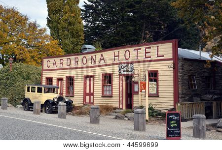Historic Cardrona Hotel In Central Otago, New Zealand