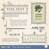 Template for the design of advertisements and other online or printed products poster