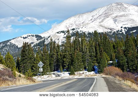 Colorado Mountain Road