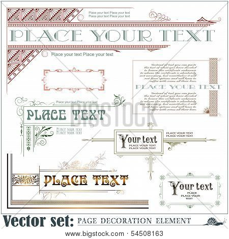Template for the design of advertisements, invitations or greeting cards
