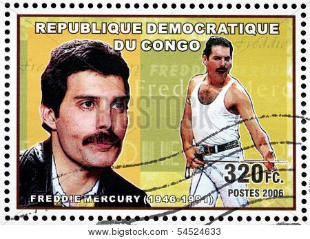 Freddie Mercury Stamp