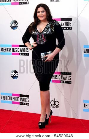 LOS ANGELES - NOV 24:  Hillary Scott at the 2013 American Music Awards Arrivals at Nokia Theater on November 24, 2013 in Los Angeles, CA