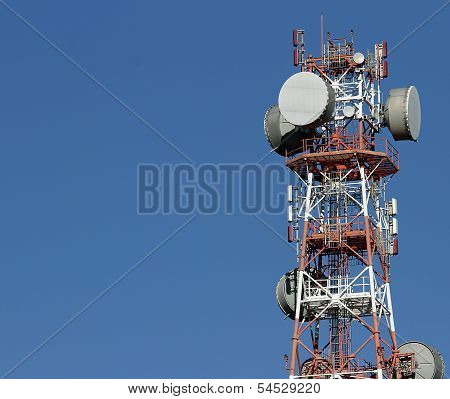 Repeaters Antennas For Mobile Communication And Television Signals