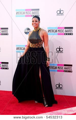 LOS ANGELES - NOV 24:  Jordin Sparks at the 2013 American Music Awards Arrivals at Nokia Theater on November 24, 2013 in Los Angeles, CA
