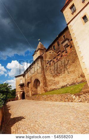 Gates Of Krivoklat Castle