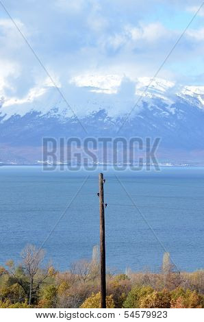 Lake Prespa in Macedonia