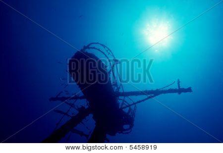 Crowsnest Of Sunken Ship