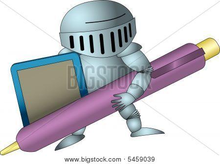 Tablet-knight
