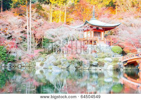 Daigoji Temple Shingon Buddhist temple in daigo Kyoto Japan poster