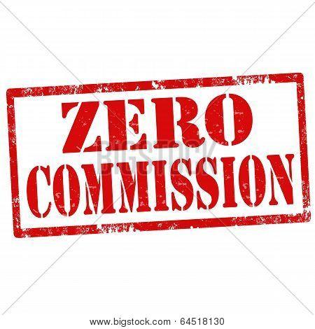 Zero Commission-stamp