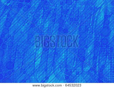 Blue Neon Wallpaper