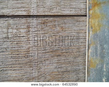Close Up Old Wood Barrel Texture