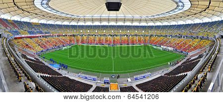 Panorama of National Arena, Bucharest