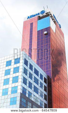 View Of Edificio Allianz (torre Allianz), Barcelona