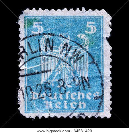 Old Postage Stamp Germany