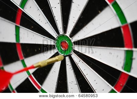 Dart Missing The Right Target