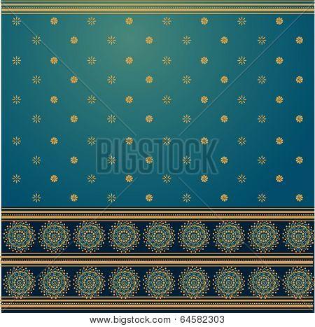 Blue saree background