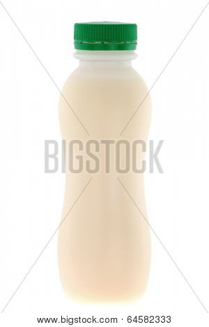 A bottle of Probiotic Yogurt Drink isolated on white background