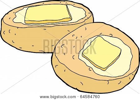 Corn Bread With Butter