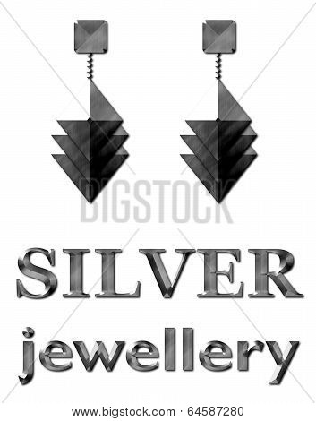 Fashion Jewelry Earrings Silver