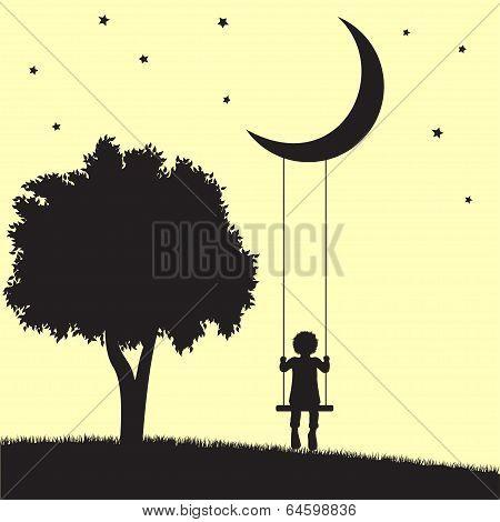 Moon swings
