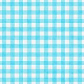 Bright Teal Gingham Pattern Repeat Background that is seamless and repeats poster
