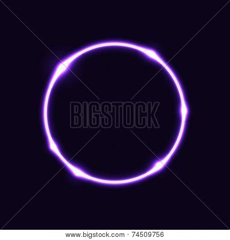 Violet Circle Effect  Background