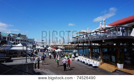 Cape Town Waterfront And Habour