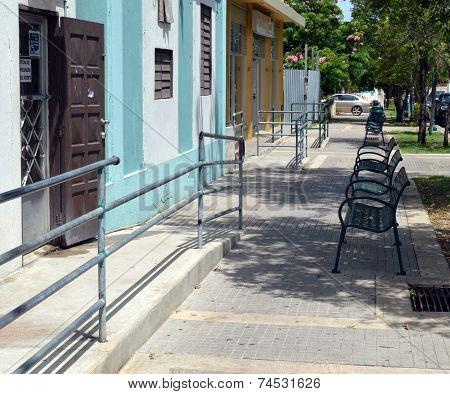 Sidewalk Benchs
