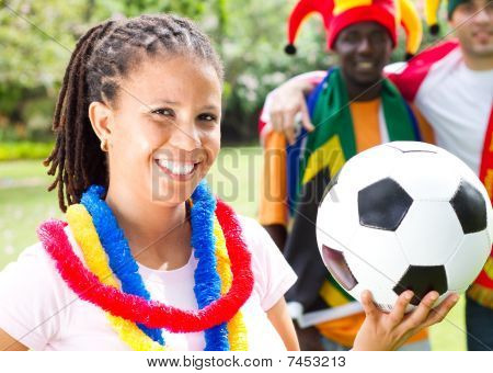 african soccer enthusiasts