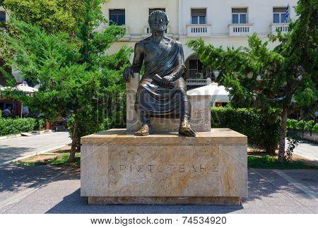 Greece, Thessaloniki, Aristotelous Monument