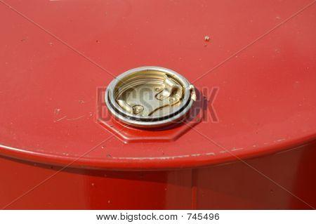 Oil drum lid