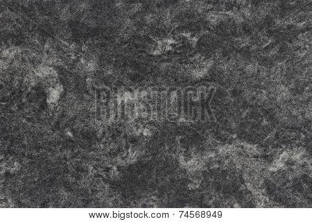Marbled Paper Texture, Black-and-White with Wood Fibres