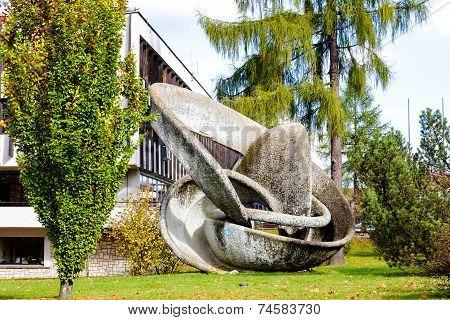 Sculpture Named Orbita In Zakopane