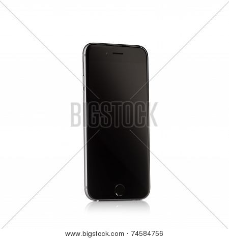 MOSCOW, RUSSIA - SEPTEMBER 27, 2014: New iPhone 6 is a smartphone developed by Apple Inc. Apple rele