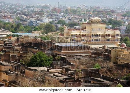 Jaipur City Palace View, India