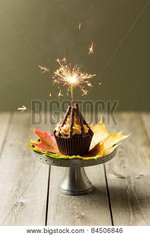 Bonfire Cupcakes