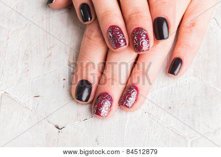 Beautiful manicure nails